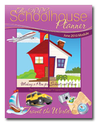 Schoolhouse Planner - Travel the World