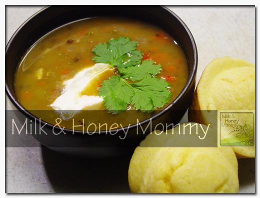 delicious black bean soup