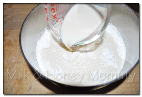 milk for pancakes