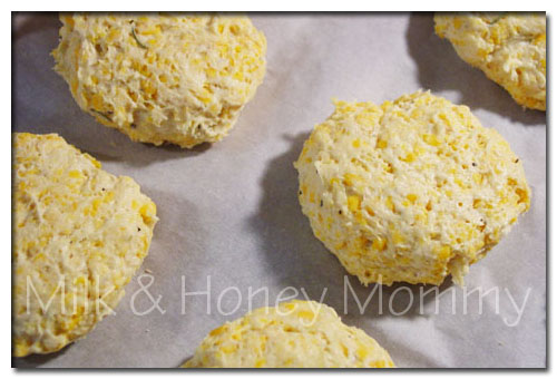cheese biscuits ready to bake