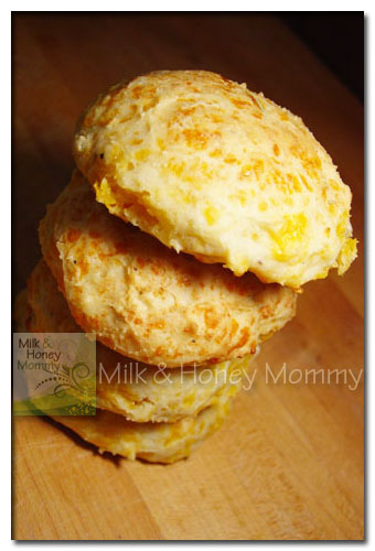delicious cheese biscuits