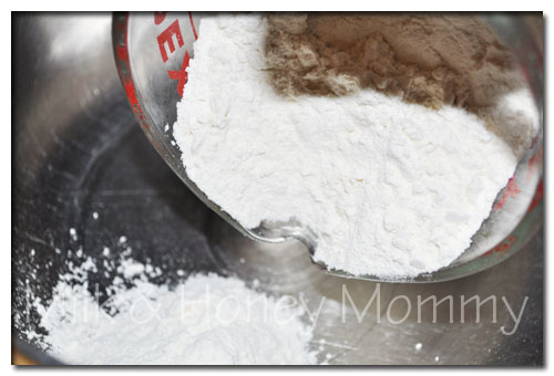flour for focaccia bread