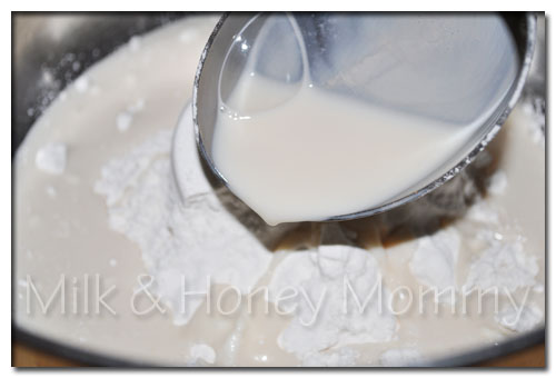 cooking with soy milk